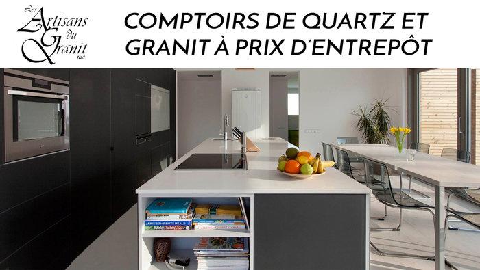 Comptoirs quartz granite meilleur prix - Comptoir en granite prix ...