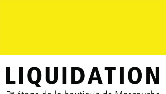 Grande vente de liquidation et - Vente de liquidation ...