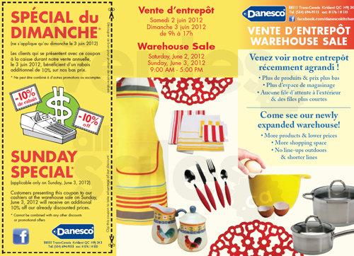 Vente d entrep t articles de cuisine 75 for Articles de cuisine montreal