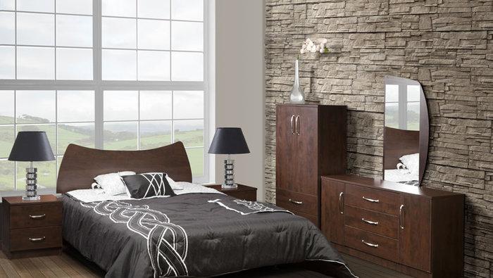 mobilier chambre coucher 6 mcx 629. Black Bedroom Furniture Sets. Home Design Ideas