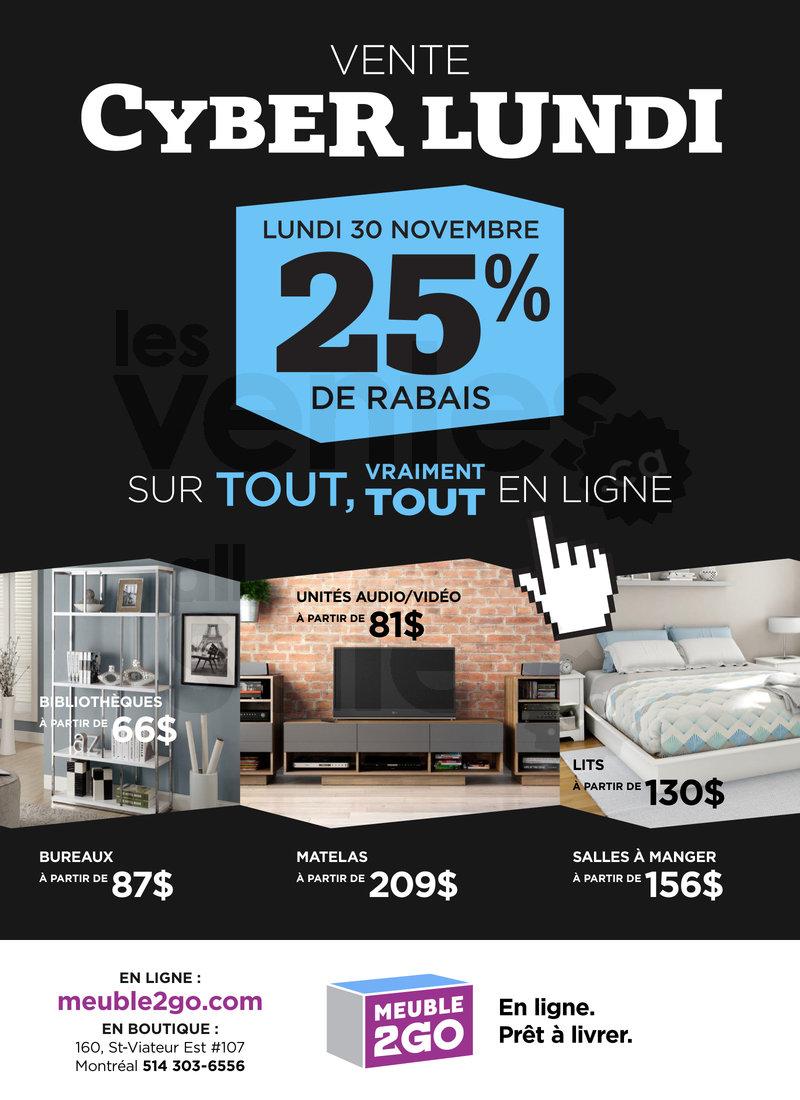 25 meubles d co et matelas en ligne for Meuble 2 go montreal