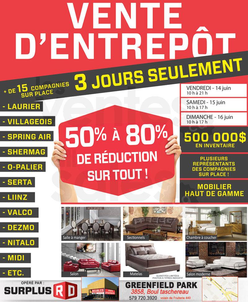 Vente entrep t de mobilier 50 80 for Le meuble villageois