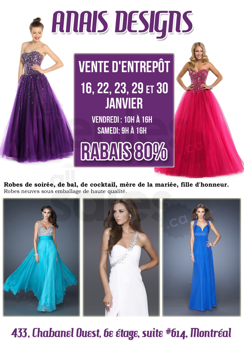Magasin robes de soiree montreal