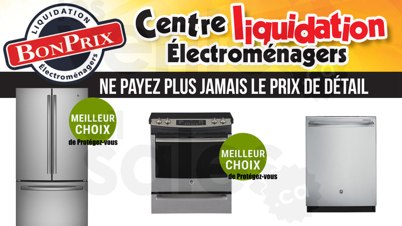 Liquidation electromenager dickson for Liquidation meuble sherbrooke