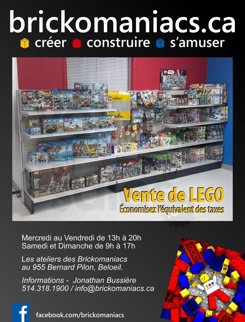 Entrepot Salle De Bain Beloeil ~ Brickomaniacs Vente De Lego Lesventes Ca