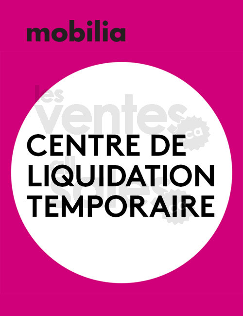 centre de liquidation temporaire meubles