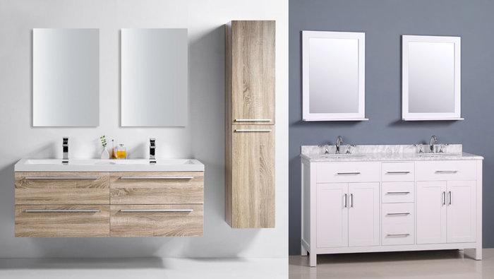 Vanités salle de bain 50%, robinets 60% | lesventes.ca