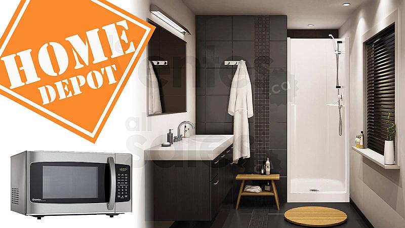 Rabais pour votre salle de bain la cuisine la chambre le salon etc que ce soit pour des électros luminaires matériaux de construction ou autre