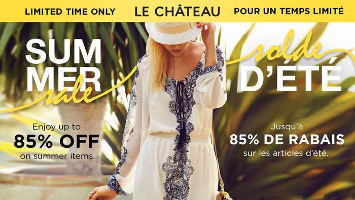 80994294d1 Solde de liquidation d'été de LE CHÂTEAU
