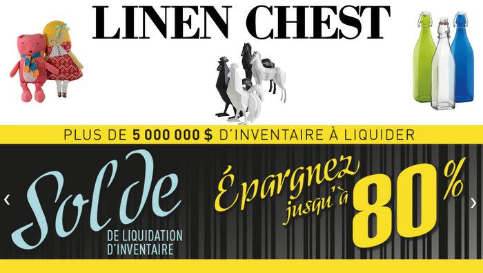 Liquidation inventaire linen chest 80 for Liquidation electromenager lanaudiere