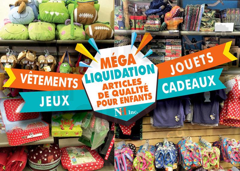 Liquidation v tements et jouets enfants for Liquidation entrepot
