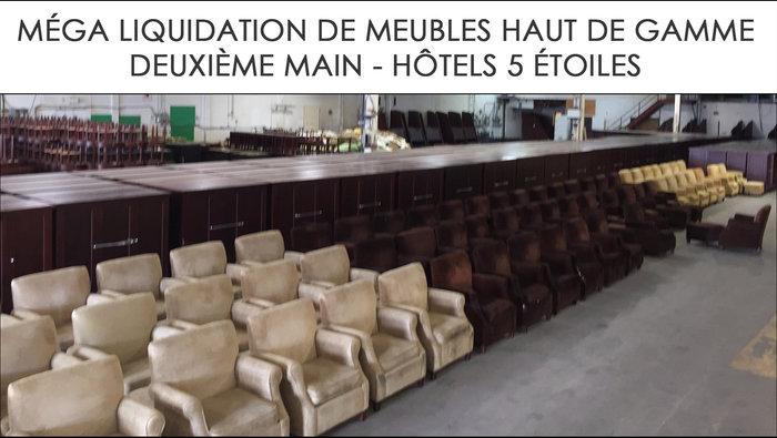 Liquidation Meubles Hotels 5 Etoiles Lesventes Ca