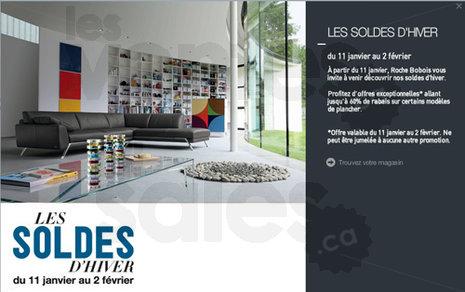 Roche bobois jusqu 39 60 de rabais - Roche bobois promotion ...