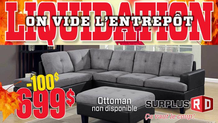 Liquidation d 39 entrep t meubles matelas for Centre de liquidation meuble