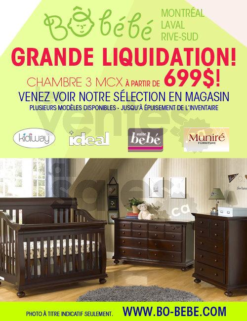 b b b liquidation mobilier chambre b b. Black Bedroom Furniture Sets. Home Design Ideas