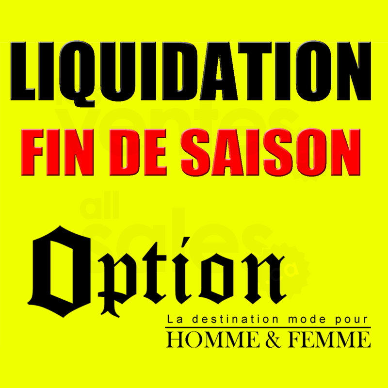 Liquidation v tements homme femme for Entrepot de liquidation
