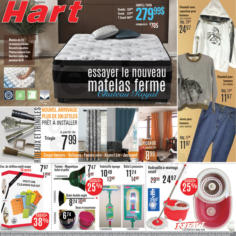 matelas gonflable hart