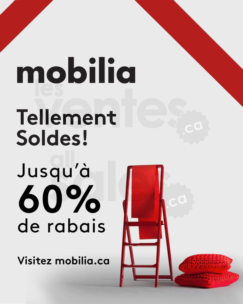Soldes Chez Mobilia Rabais Jusqu 39 60